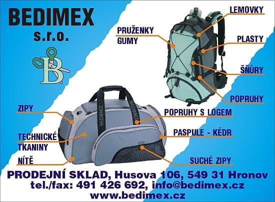 BEDIMEX - Brašnářský A Sedlářský Materiál, Potisk, Trezory (Hronov)