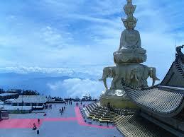 Emeishan - Hora Buddhovy Aury