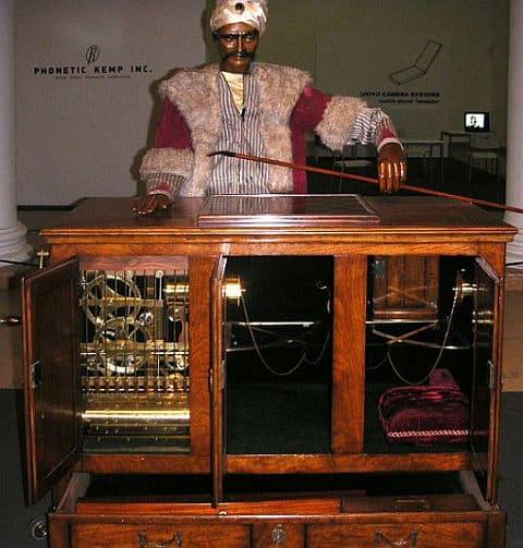 Zázračný Stroj Barona Kempelena