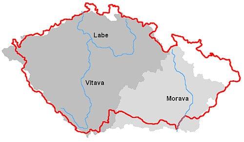 Nejdelší české řeky